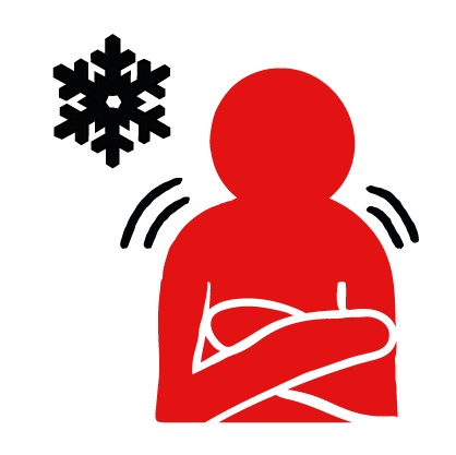 BRC First Aid Icon Hypothermia